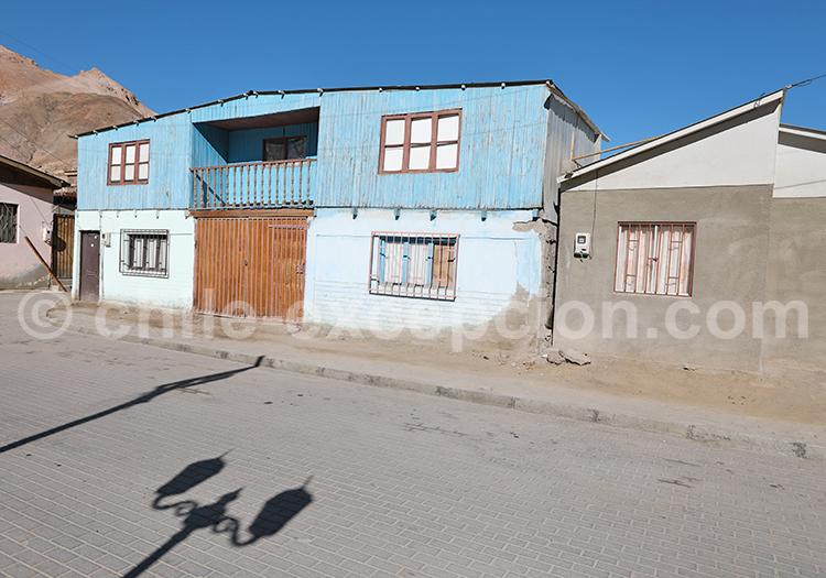 Rues de Camiña, Nord du Chili