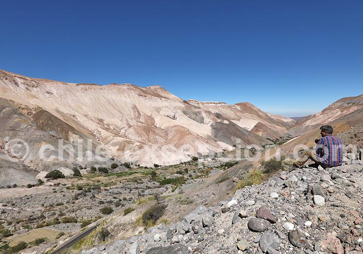 Photographie en couleur, désert du Chili