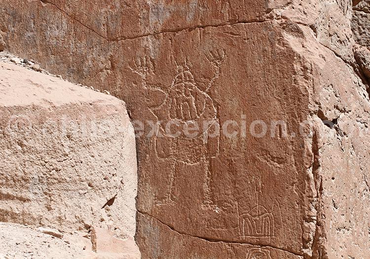 Pétroglyphe de Chillayza