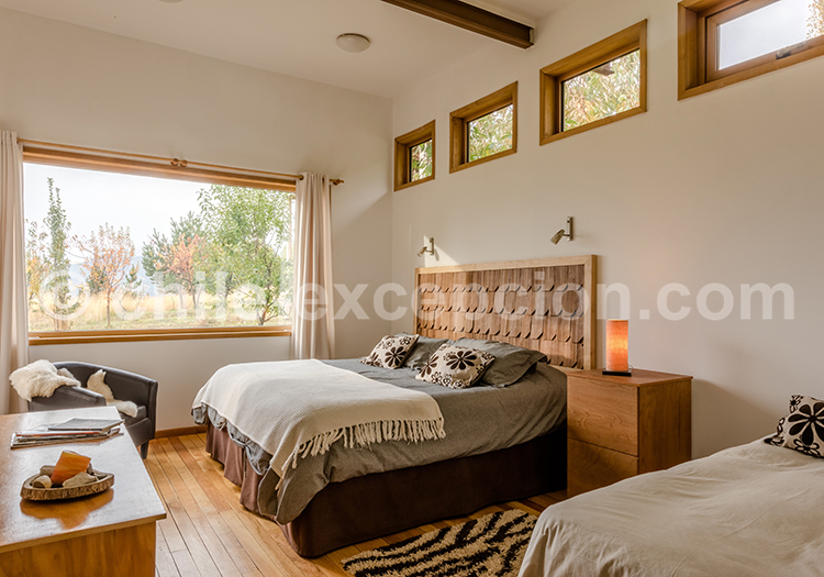 Chambre double, Patagonia House