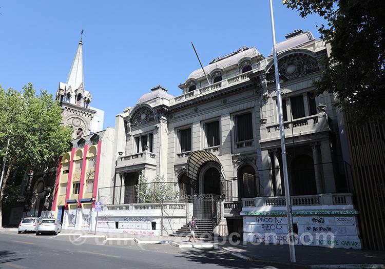 Palacio Ariztía, Almagro, Santiago de Chile