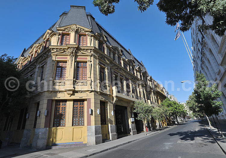 Quartier Almagro, Santiago de Chile