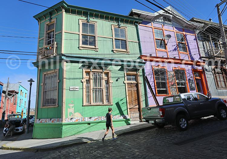 Voyage Valparaiso, Chili