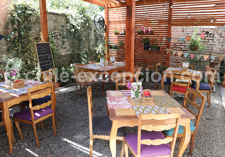 Cafés et bars, Barrio Italia, Santiago de Chile