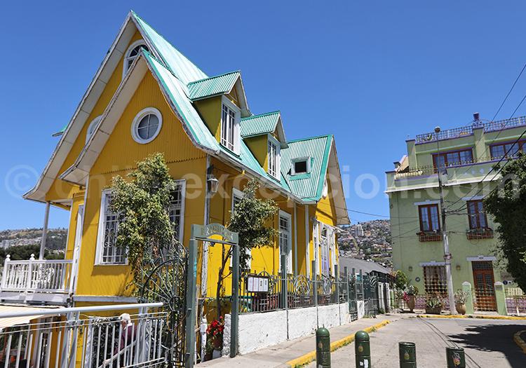 Paseo Atkinson, Cerro Concepción, Valparaiso, Chili