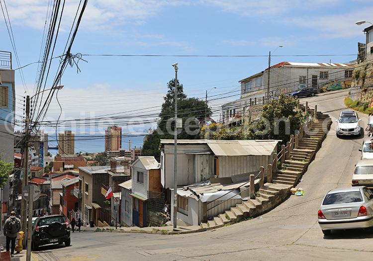 Se balader dans Valparaiso, Chili