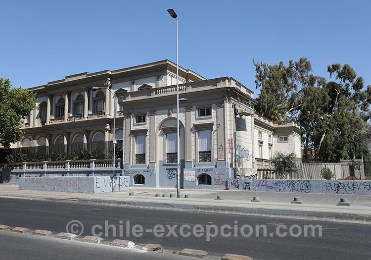 Palacio Errázuriz Urmeneta, Almagro, Santiago de Chile