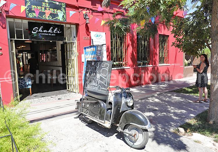 Les plus beaux quartiers de Santiago de Chile