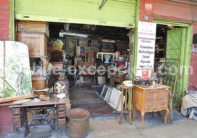 Antiquarios del Barrio Italia, Santiago de Chile