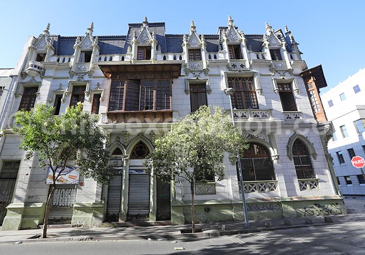 Architecte Paul lathoud, Quartier Almagro, Santiago de Chile