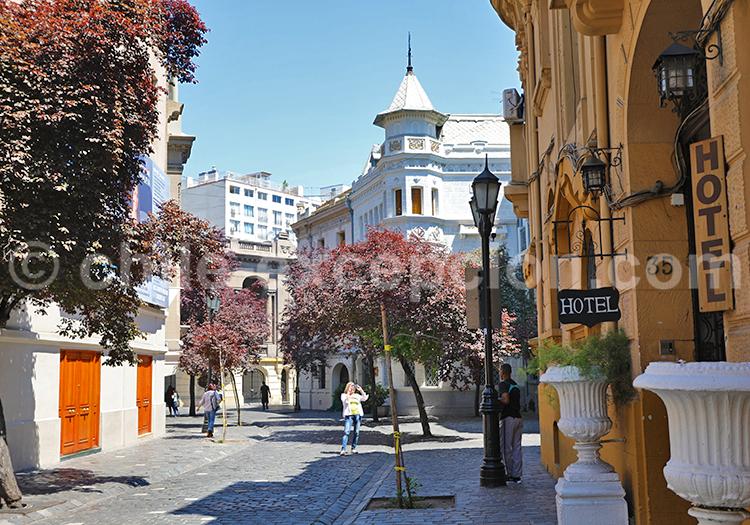 Quartier Paris-Londres, Santiago de Chile