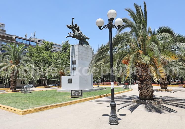 Place centrale de Santiago de Chile