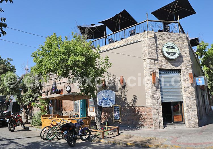Restaurant, Barrio Italia, Santiago de Chile
