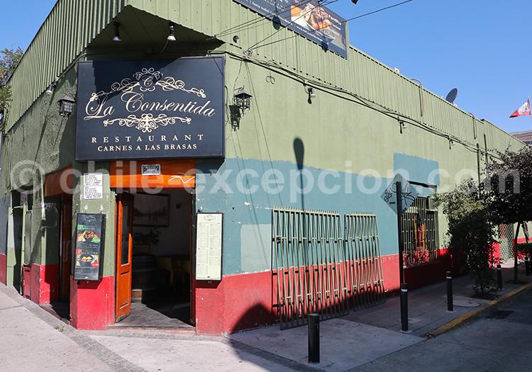 La Consentida, Barrio Italiano, Santiago de Chile