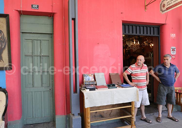 Photographie, Barrio Italia Santiago de Chile