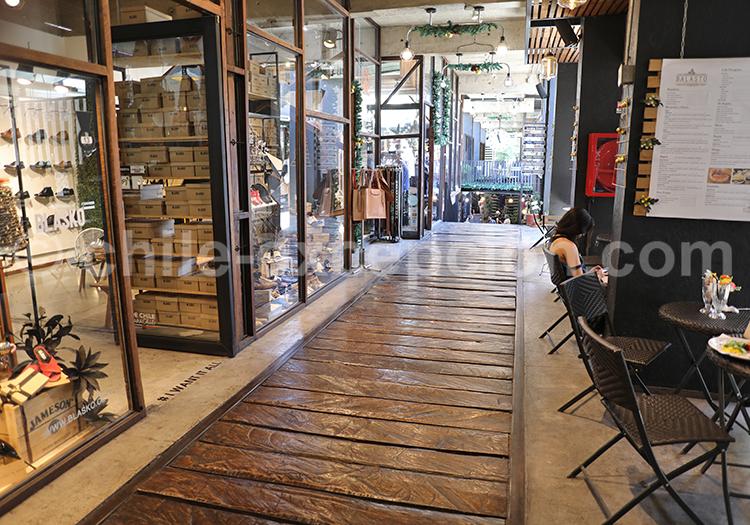 Galerie marchande, Barrio Italia, Santiago de Chile
