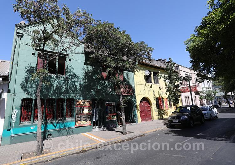 Découvrir le quartier Brasil à Santiago de Chile