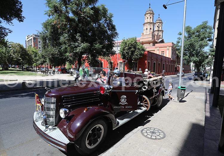 Séjour dans le centre de Santiago du Chili