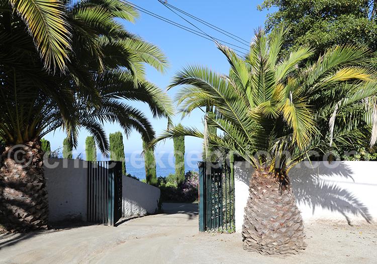 Zapallar, côtes du Chili
