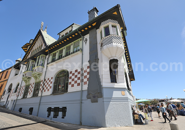 Palacio Baburizza, Valparaiso, Chili
