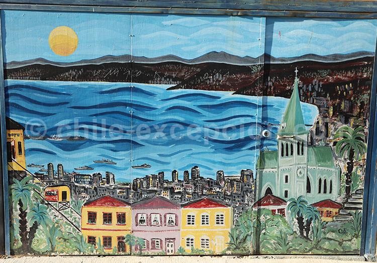 Street Art et art urbain à Valparaiso