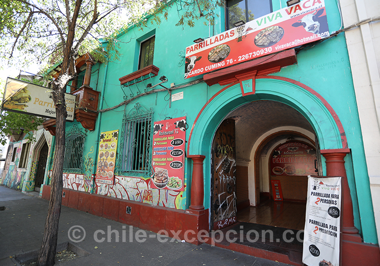 Où se balader dans le quartier Brasil de Santiago de Chile