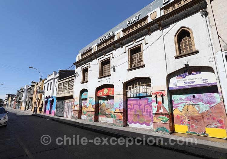 Que visiter dans le quartier Almagro, Santiago de Chile