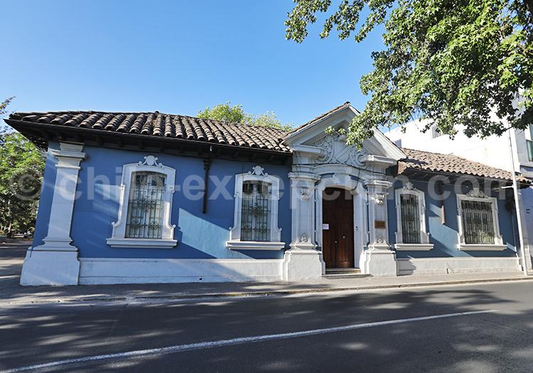 Visite du quartier Almagro, Santiago de Chile