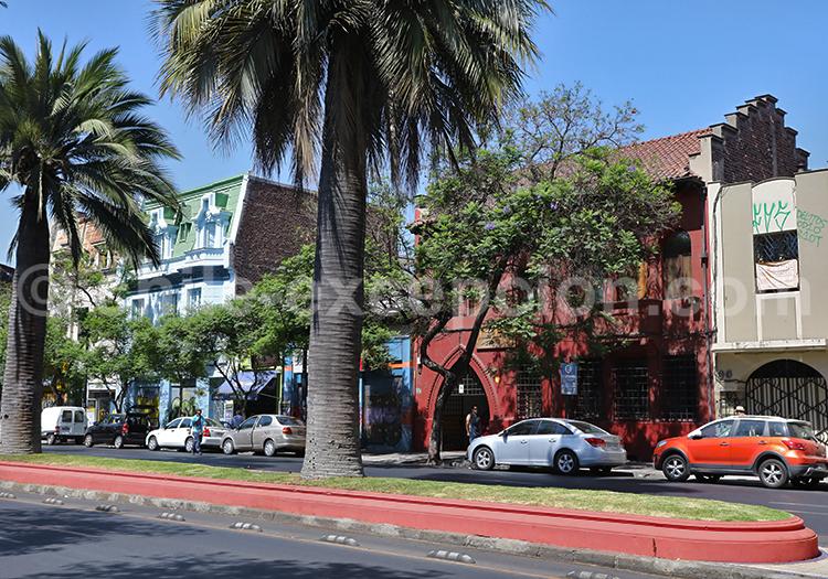 La Moneda, Barrio Brasil, Santiago de Chile
