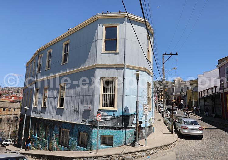 Rues de Valparaiso, Chili
