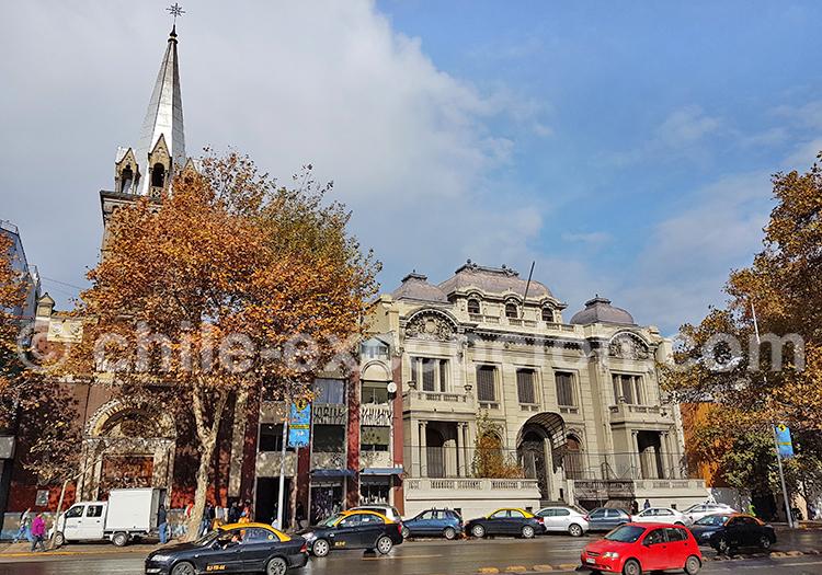 Palacio Cousiño, Quartier Almagro, Santiago de Chile
