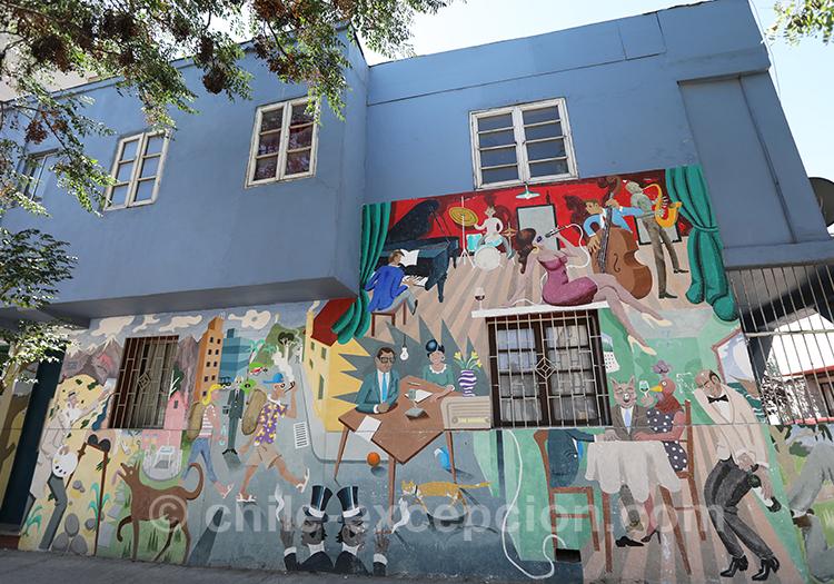 Visiter le quartier Brasil de Santiago de Chile