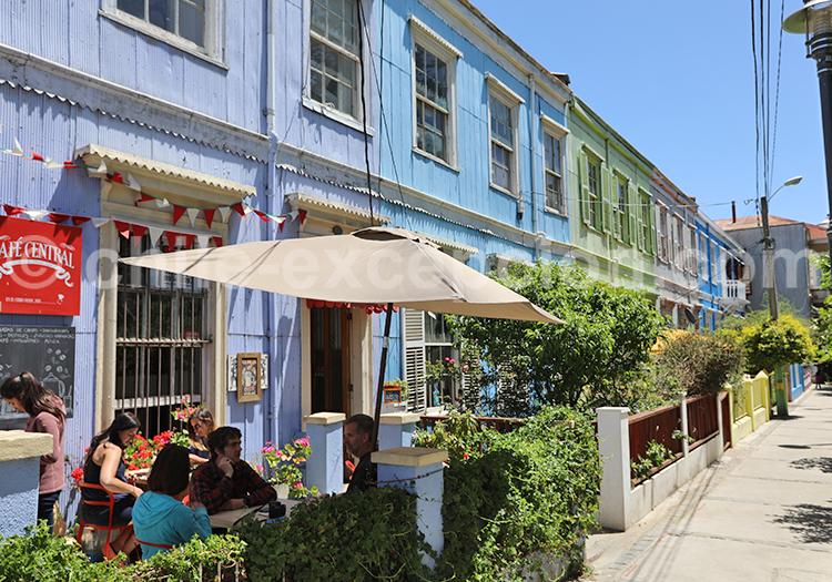 Passage Pierre Loti, cerro Concepción, Valparaiso