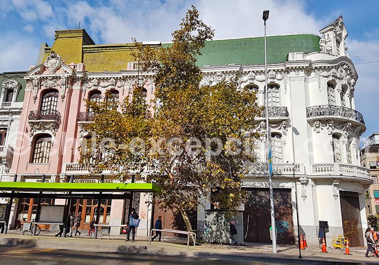 Visite guidée, Quartier Almagro, Santiago de Chile