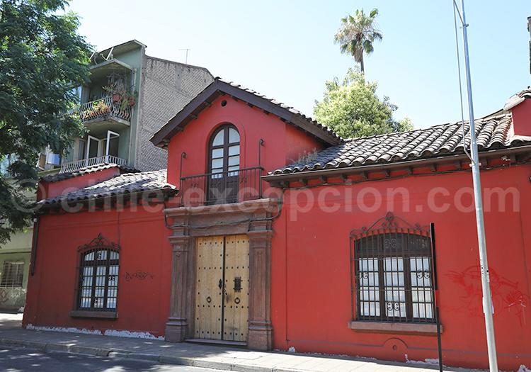 Barrio Brasil, Centre de Santiago de Chile