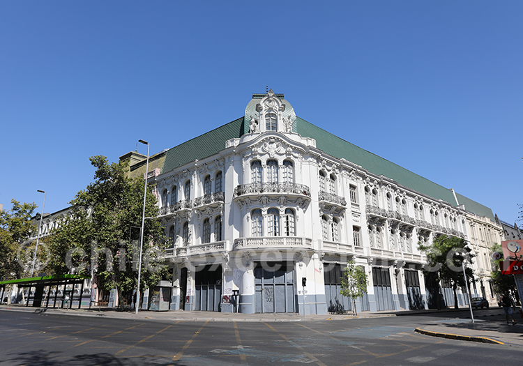 Palácio Íñiguez (1908), Santiago