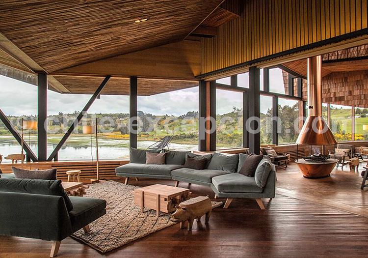 Hôtel Tierra Chiloé, Lounge