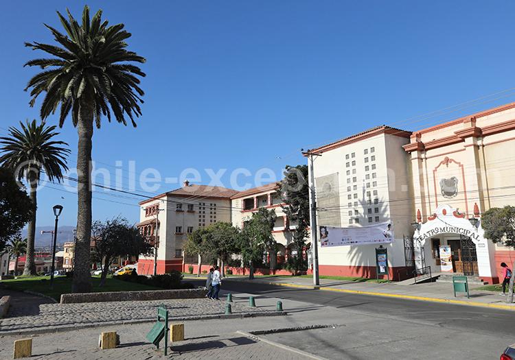 Théâtre municipal, La Serena, Chili