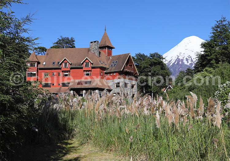 Petrohué, región de los lagos, Chili