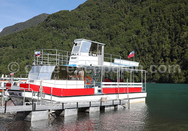 Petrohué, régions des lacs, Chili