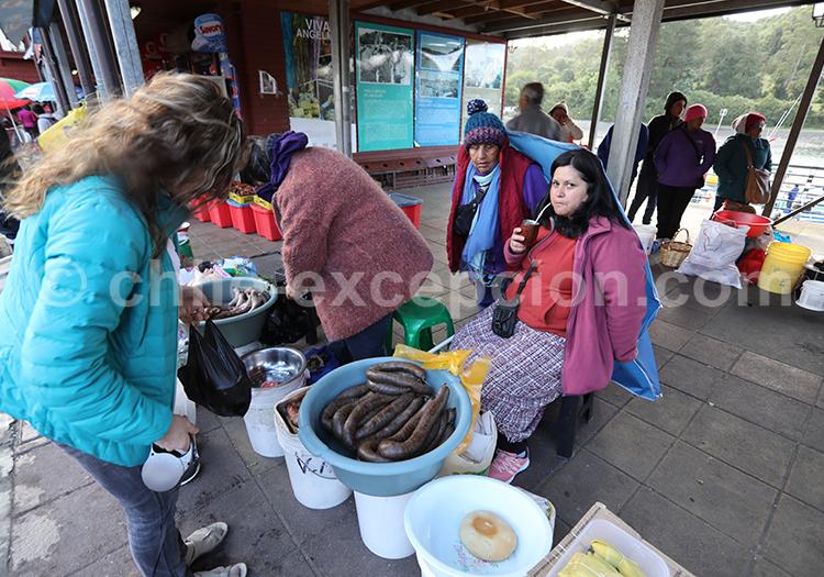 Marché d'Angelmó, Chili