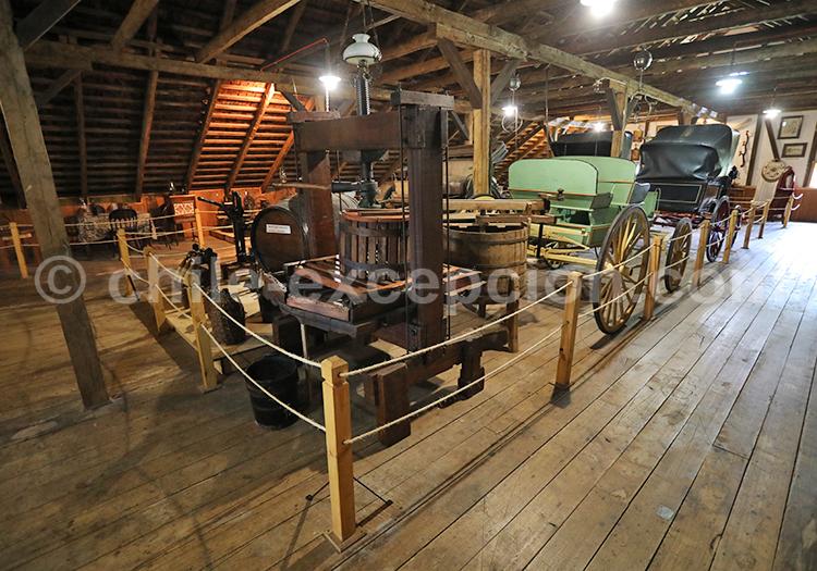 Les moyens de locomotions d'antant, Museo Antonio Felmer