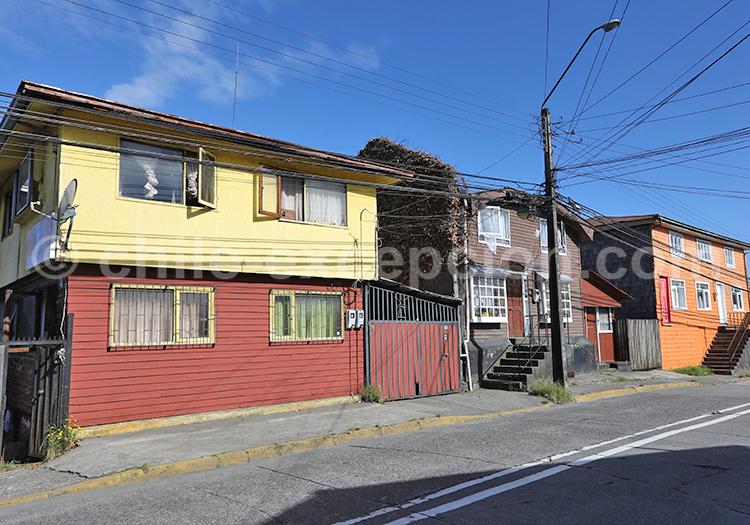 Rues de Puerto Montt, Chili