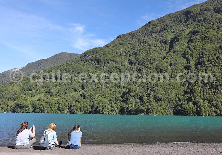 Bords du lac Petrohué, Chili