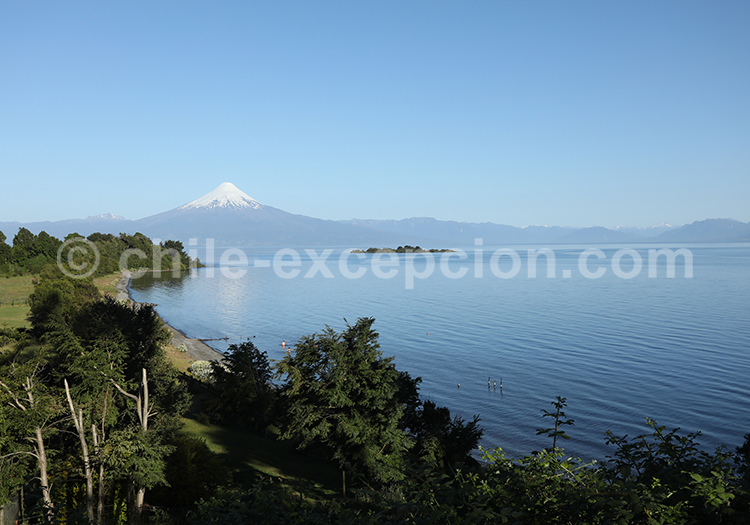 Volcan Osorno, Lac Llanquihue