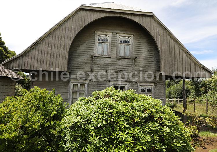 Maison traditionnelle, Puerto Varas, Chili