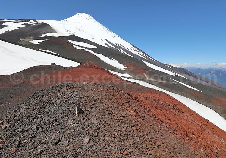 Ascension du volcan Osorno, Chili