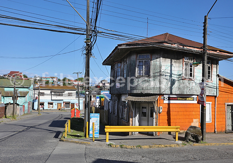 Maisons de Puerto Montt, Chili