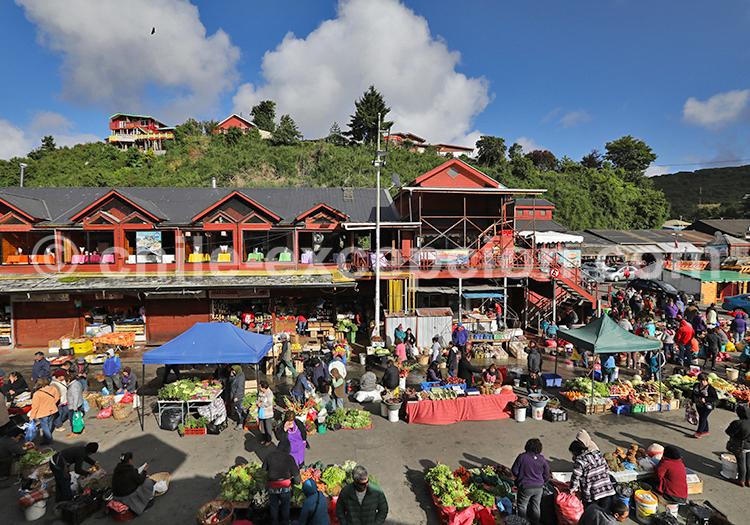 Marché d'Angelmó,Puerto Montt