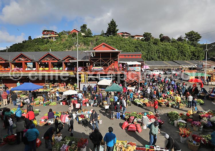 Marché d'Angelmó, Puerto Montt